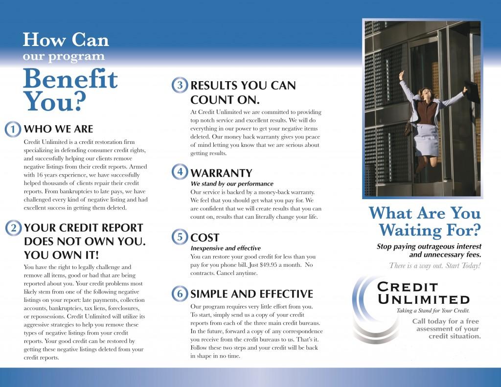 Credit Building Program